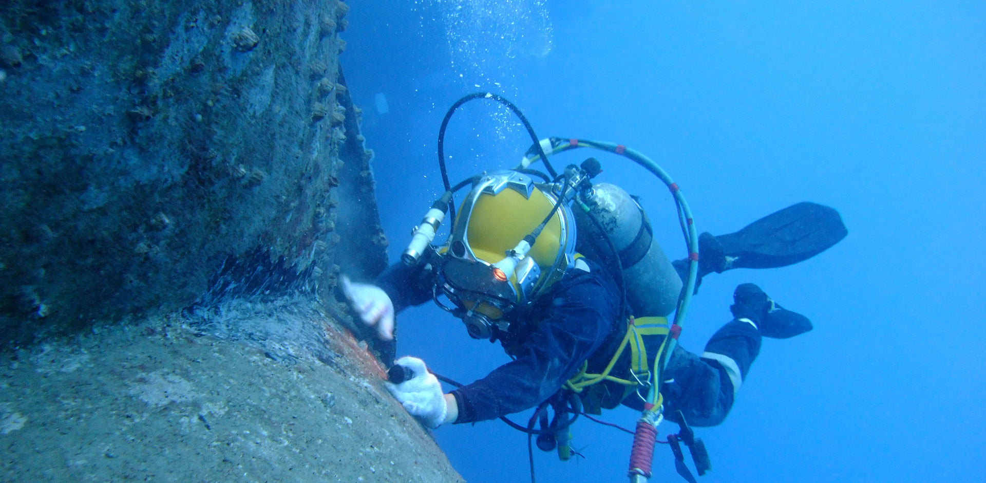 Inwater | diver | inspection | biofouling | management